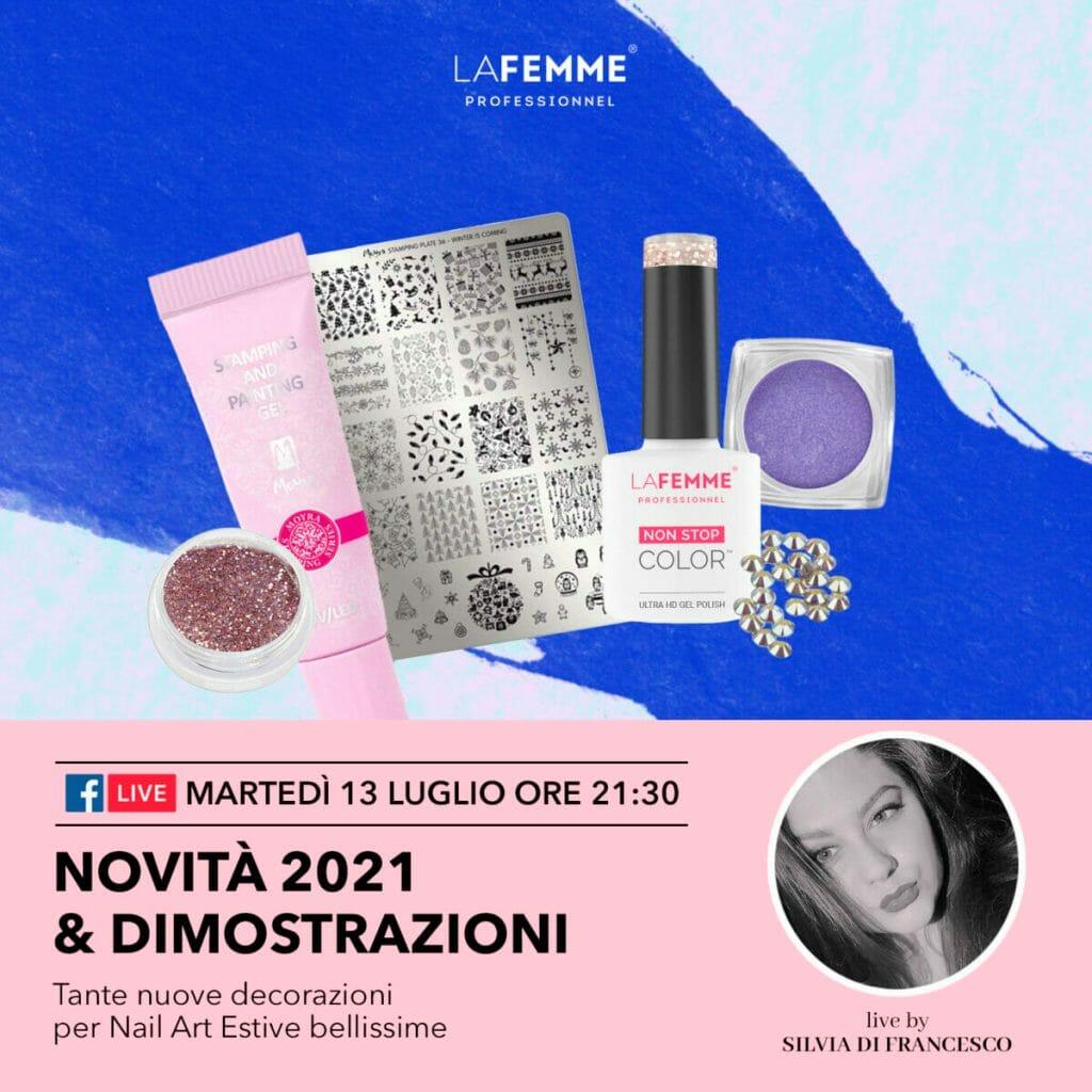 Live La Femme Novità Luglio