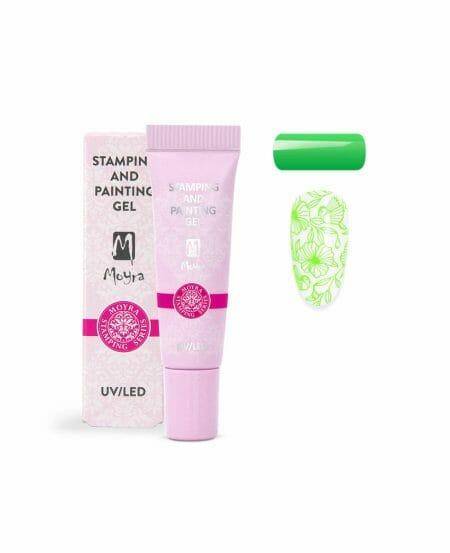 Moyra® Stamping & Painting Gel - N.09 VIVID GREEN 7gr
