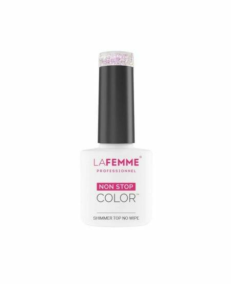 Shimmer Top Coat No Wipe UV&LED 8gr - S002_Pink