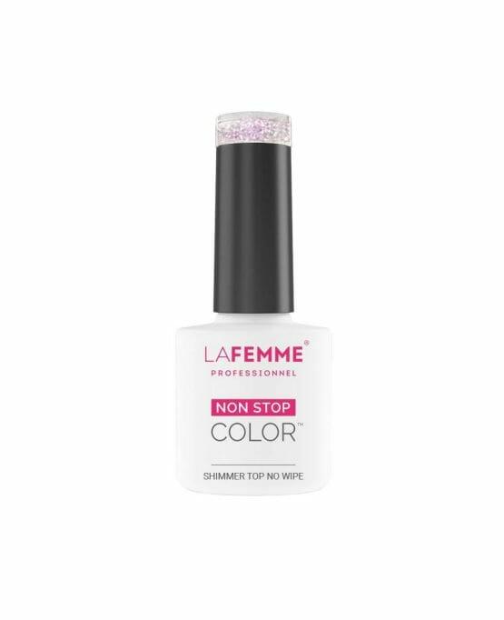 Sigillante per Semipermanente con Glitter Rosa Senza Dispersione - Shimmer Pink