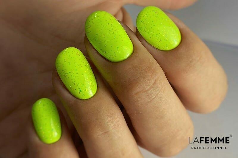 Smalto Verde Lime per Unghie Estate