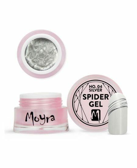 Moyra® Spider Gel 5gr - N.04 Silver