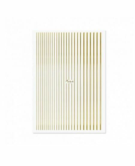Moyra® Nail Art Strips (strisce adesive) - N.01 GOLD