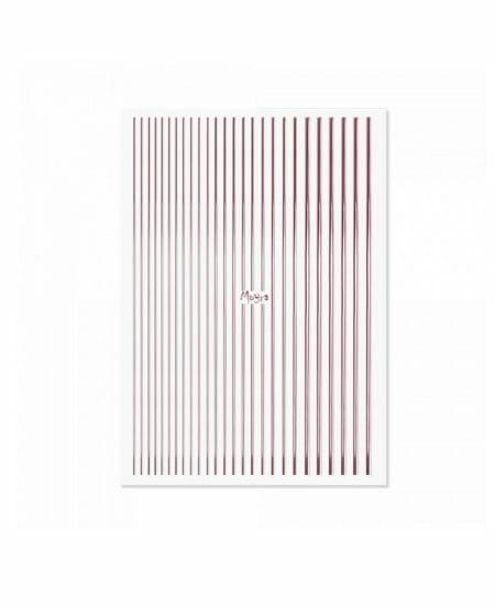 Moyra Nail Art Strips N.03 ROSE GOLD