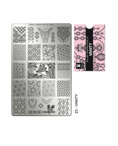 Piastra Stamping Moyra® 23 - Vanity - 9,5cm x 14,5cm