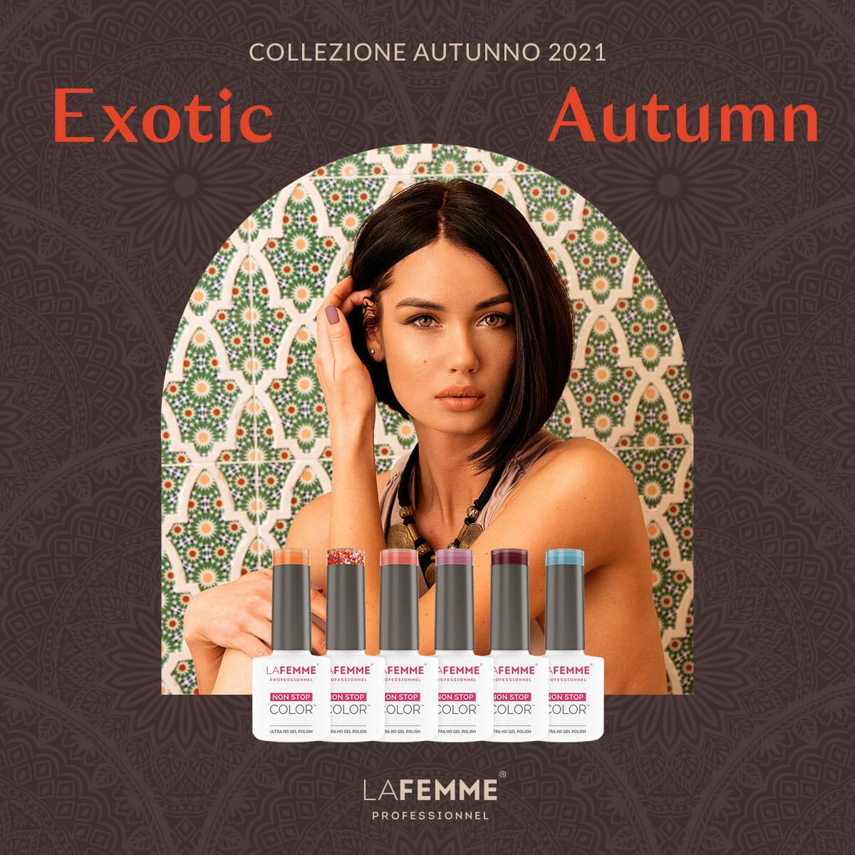 Exotic Autumn - Collezione Semipermanenti Fall 2021