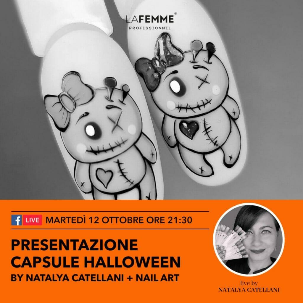 Capsule Collection Halloween Natalya Catellani - Presentazione 12 Ottobre