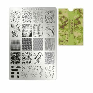 Piastra per Stamping Texture 2 Numero 98